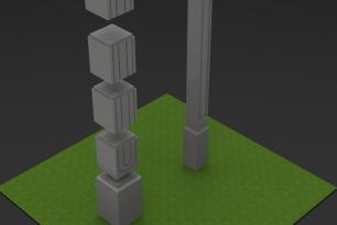 Как быстро устанавливается еврозабор с бетонными столбами технологии mafmaster